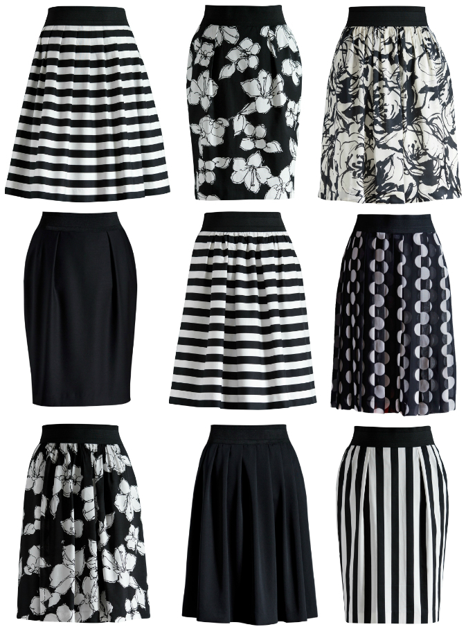 This is not a surprise isn't it? Black and white, the most used colors in fashion. Before Chanel invented her famous little black dress (1926), the color black was to express grief, intended for funerals, meant to mourn. But she promoted black to fashion color number one. And when black entered, its counterpart white naturally followed. Opposites attract, as we all know. Black & White, always right. Separate or together, a safe bet for any occasion. But classy and beautiful.