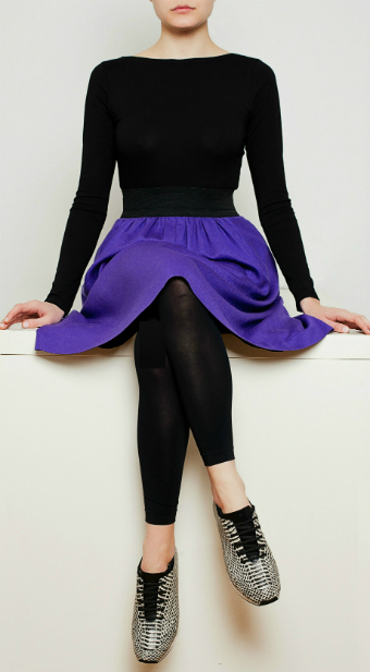 And here is your purple happyskirtt